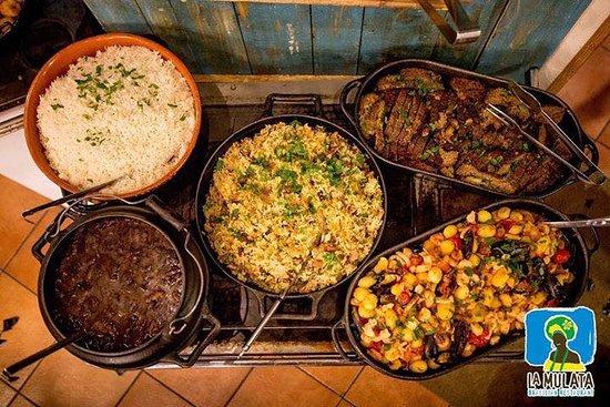La Mulata Brazil Restaurant: Mangiare tipico brasiliano 100%