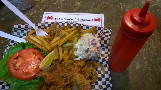 Nick S Inner Harbor Seafood Soft Shell Crab Sandwich