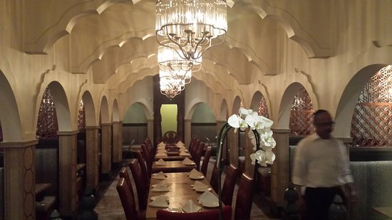 Excellent decor, food and service