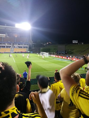 Mt Smart Stadium Auckland New Zealand Phoenix Vs Wsw