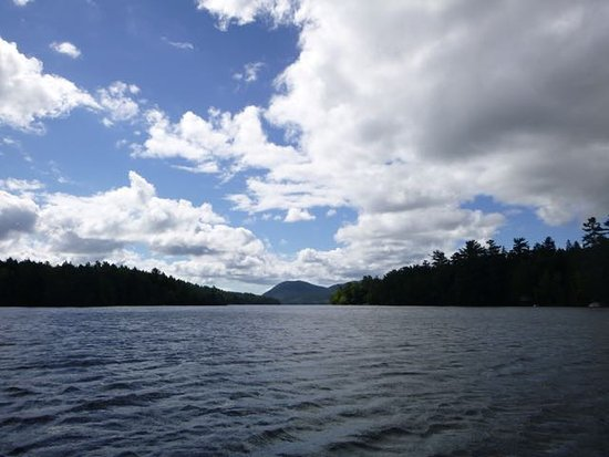 ‪‪Mount Desert‬, ‪Maine‬: View from the canoe‬