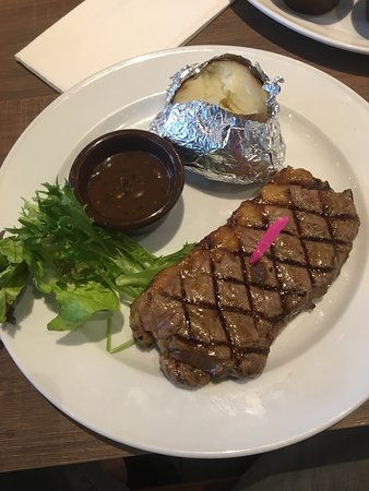 Astons Steak And Salad Singapore Marina Centre Restaurant