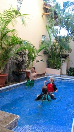 Casa San Francisco: Not a huge pool, but big enough to cool off.