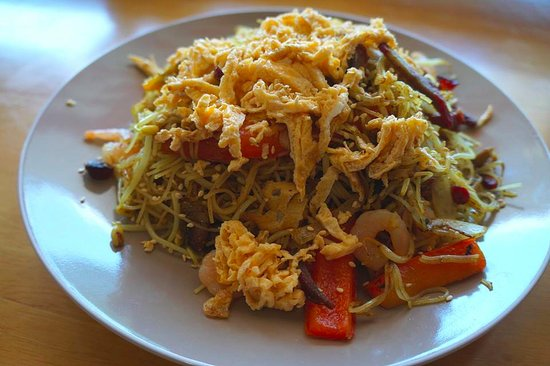 Ashmore, Australien: Singapore Fried Noodles