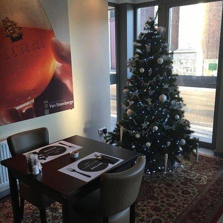 Evergem, เบลเยียม: Kerst in Het Lunchcafé