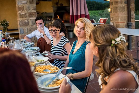 Agriturismo Savernano: Eva's delicious food