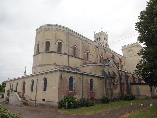 Basilique Notre-Dame de Buglose, Saint-Vincent-de-Paul (Landes, Nouvelle Aquitaine), France.