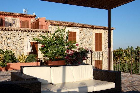 Moscari, Spain: Hotel Can Riera - Terrace
