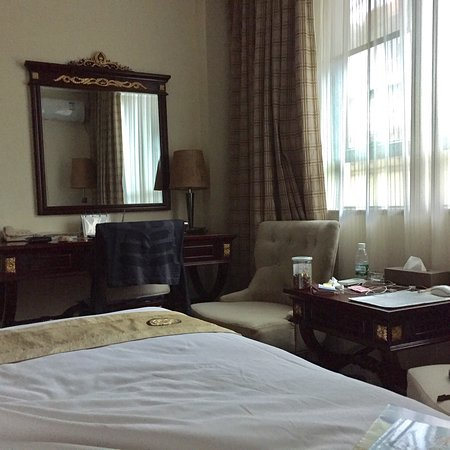 Danzhou, Chiny: Very nice hotel with swimming pool, the rooms are big and comfortable, staff is nice and some of