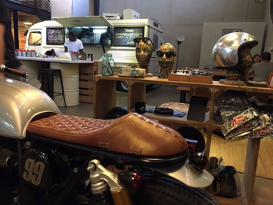 cafe rider indoor food truck