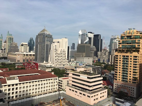 Courtyard by Marriott Bangkok: day time views from the Club Level