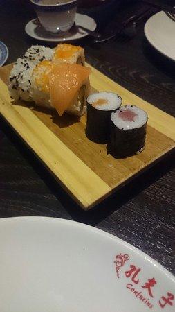 Tamm, Germania: Kleine Sushi Auswahl