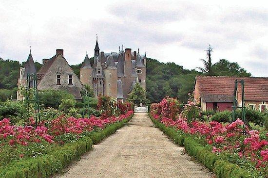 Lassay-sur-Croisne, Prancis: magnifiques chateau et fraises