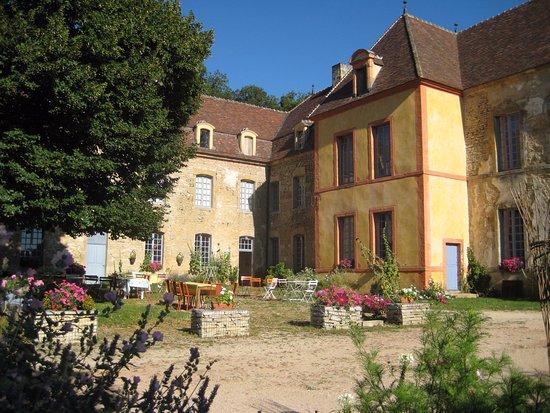 Château de Sainte Colombe en Auxois