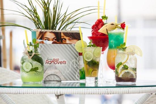 Hotel Rahovets: Sample drinks