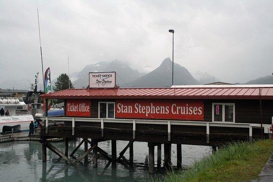 Point of embarkation in Valdez