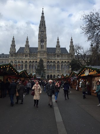 christmas market on rathausplatz - Vienna Christmas Market