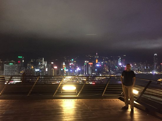 ‪‪Harbour Grand Hong Kong‬: Roof Terrace View‬