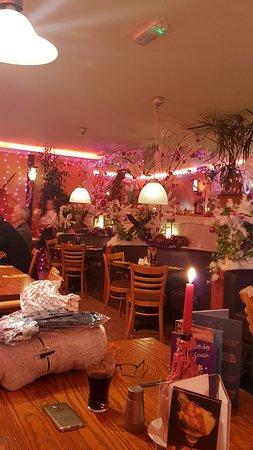 Horning, UK: lovely christmas decorations