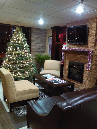 McAfee, Nueva Jersey: Quality Inn Front Lobby