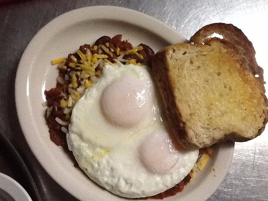 Centennial, WY: Chili and Egg Special