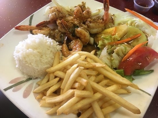 Aloha hawaiian bbq asian restaurant 5620 princess anne for Aloha asian cuisine