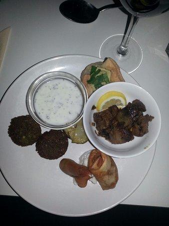 Een van de lekkere voorgerechten bij Restaurant Syr