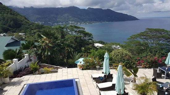 Petit Amour Villa: View from balcony