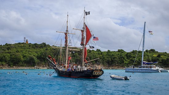 Another pirate ship in Turtle Bay  - Picture of Doubloon Pirate