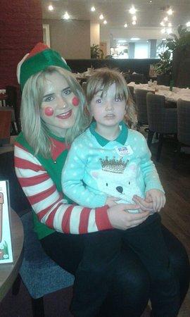 Merseyside, UK: merry Christmas