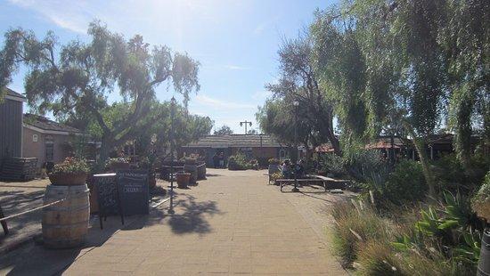 El Patio De Old Town: Vista Del Parque Donde Está El Restaurante