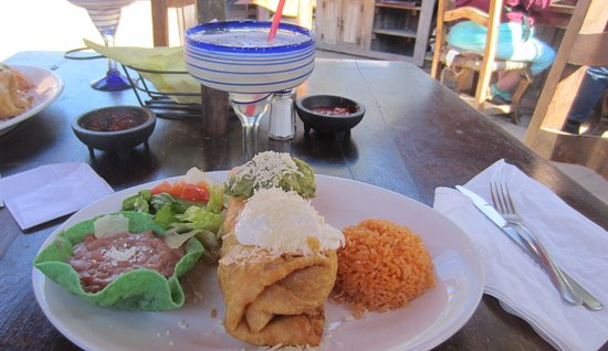 Great El Patio De Old Town: Plato De Chimichanga