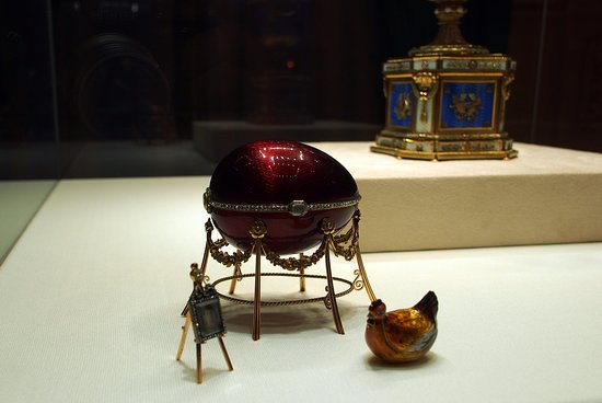 Faberge Museum: I love the treasures found in each egg