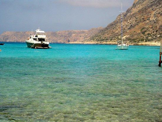 Creta, Grecia: Zatoka Balos, to wymarzone miejsce na kąpiel