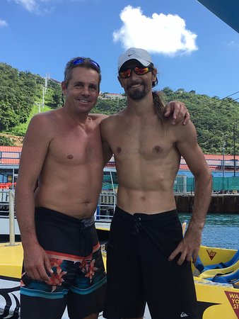 Blue Island DIvers: Mike, left and Max, right. Both great guys and made the day one never to forget. great dives & d