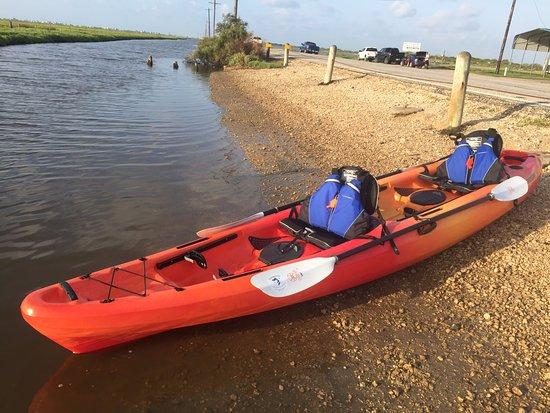 Matagorda, TX: We offer tandem (2 Person) Kayaks.