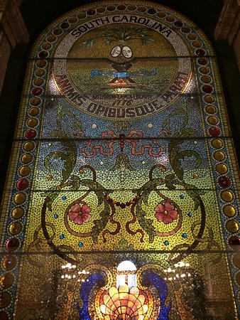 South Carolina State House: Stained glass