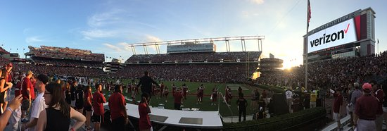 Williams-Brice Stadium : From the student section