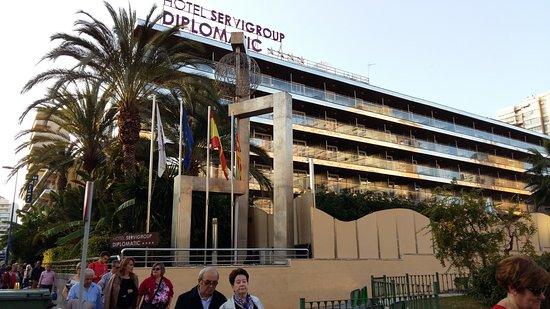 Servigroup Diplomatic: exterior
