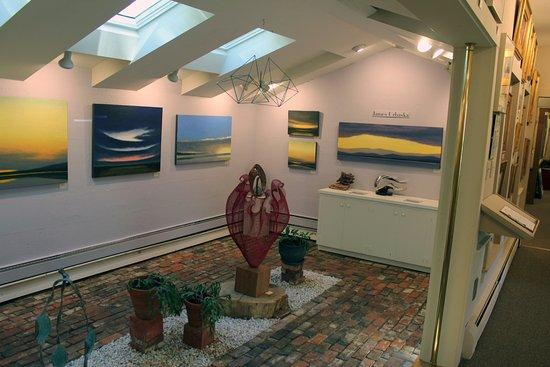 Gallery North Star: The atrium room