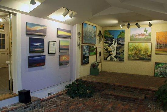 Grafton, VT: The atrium room