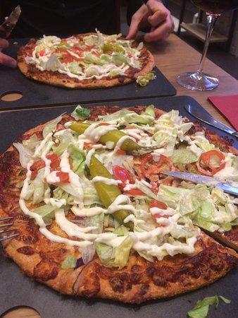 Norsborg, Suède : Goda kebabpizzor!