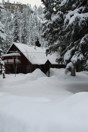 O-Bar-O Cabins: Winter Wonderland
