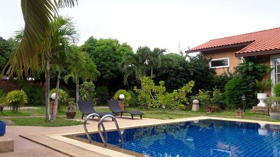 Pool near Patios