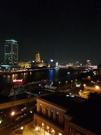 فندق ماريوت القاهرة: صورة للنيل من فندق ماريوت برج الزمالك