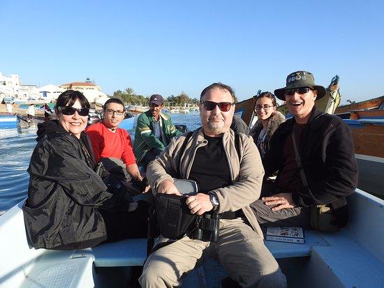 Moulay Bousselham, โมร็อกโก: Excursión en barco unos 50 MAD por persona