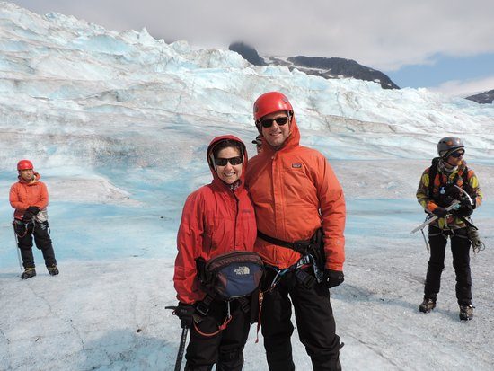 NorthStar Trekking: Suited up and trekking on the glacier