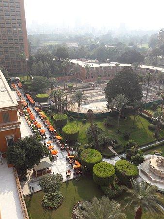 فندق ماريوت القاهرة: صورة للحديقة من فندق ماريوت برج الزمالك
