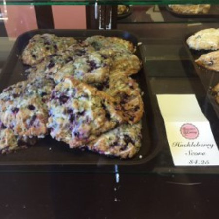 Orofino, ID: Huckleberry Scones!