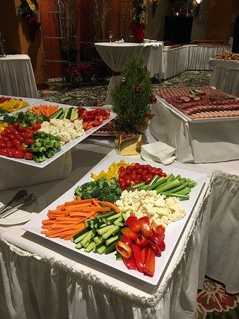 hilton vancouver metrotown christmas dinner party buffet - Christmas Dinner Party